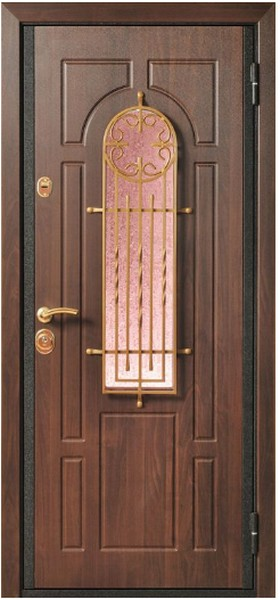 двери входные с окном цена